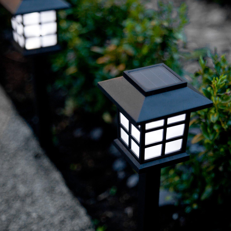 Солнечные светильники на аккумуляторах