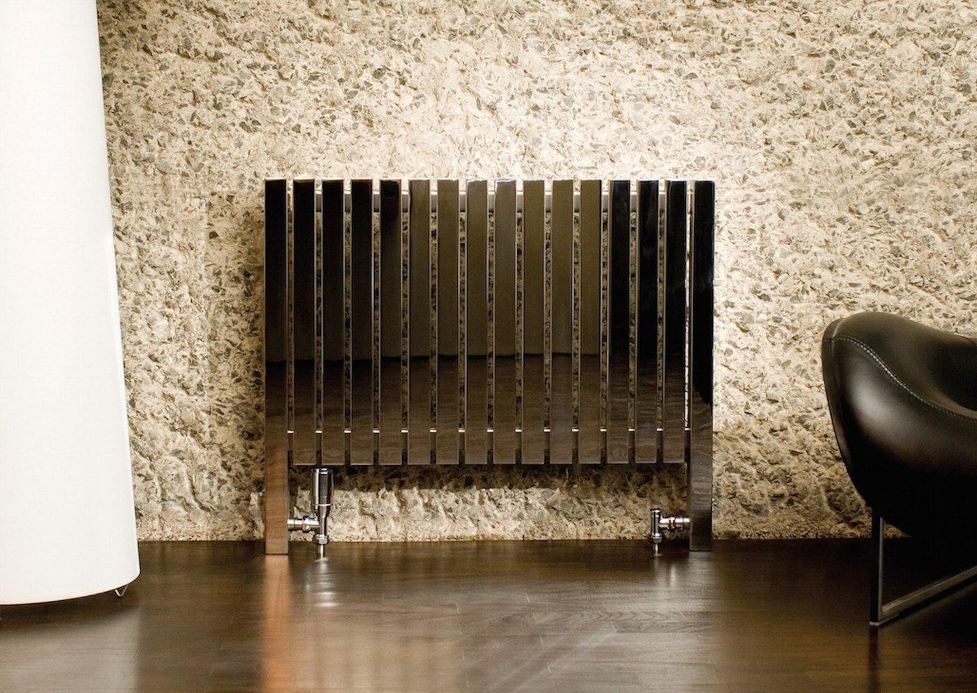 Напольный алюминиевый радиатор