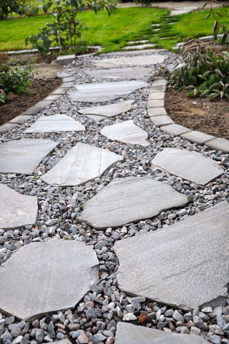 Плитка под бутовый камень на даче