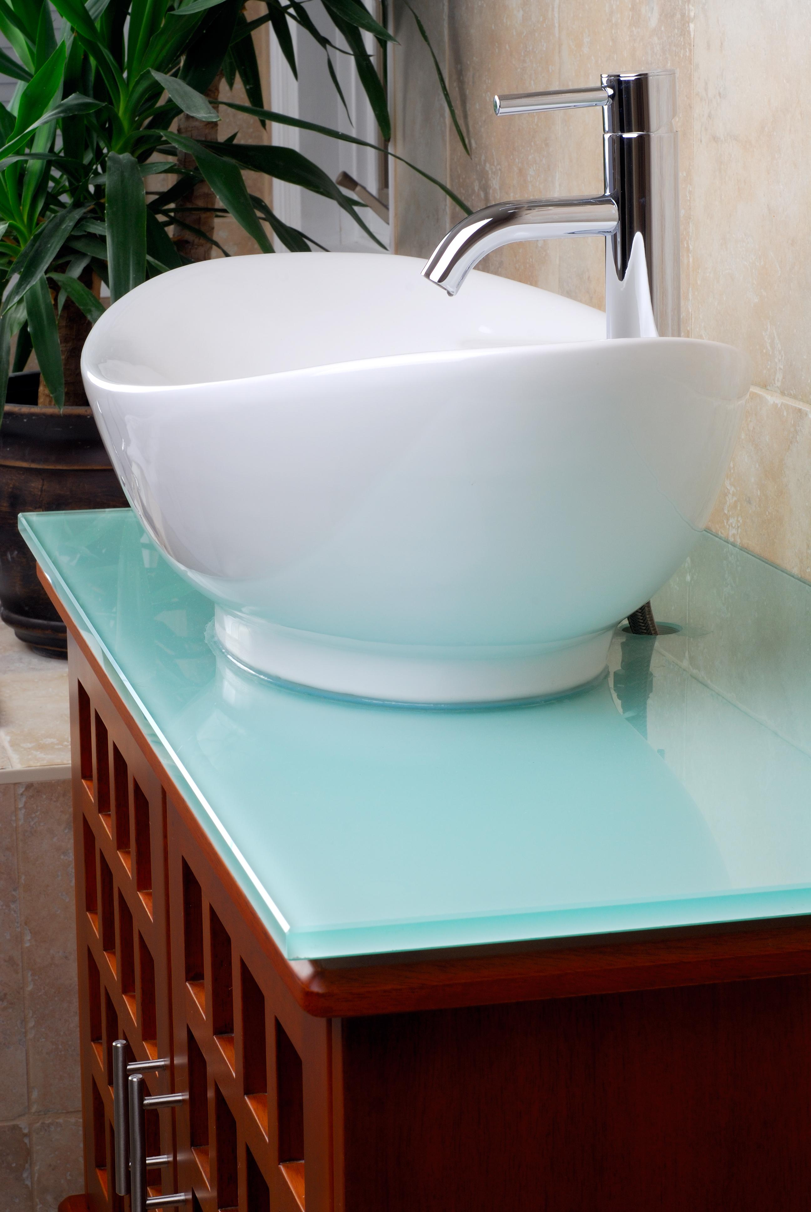 Раковина для ванной кувшинка