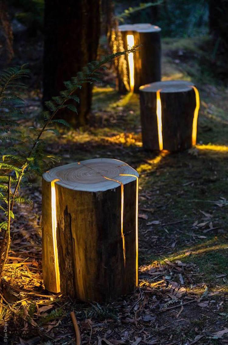 Оригинальный дизайн солнечного светильника