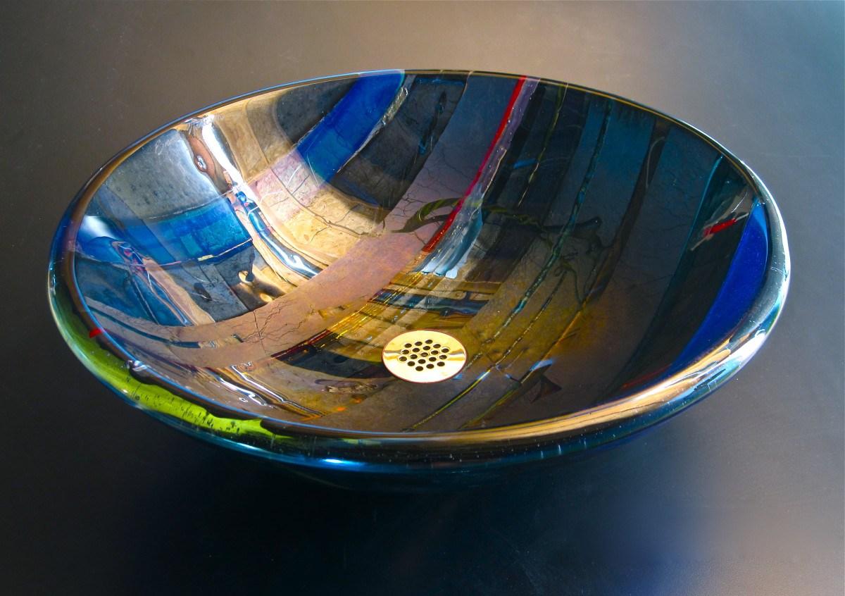 Дизайн стеклянной раковины