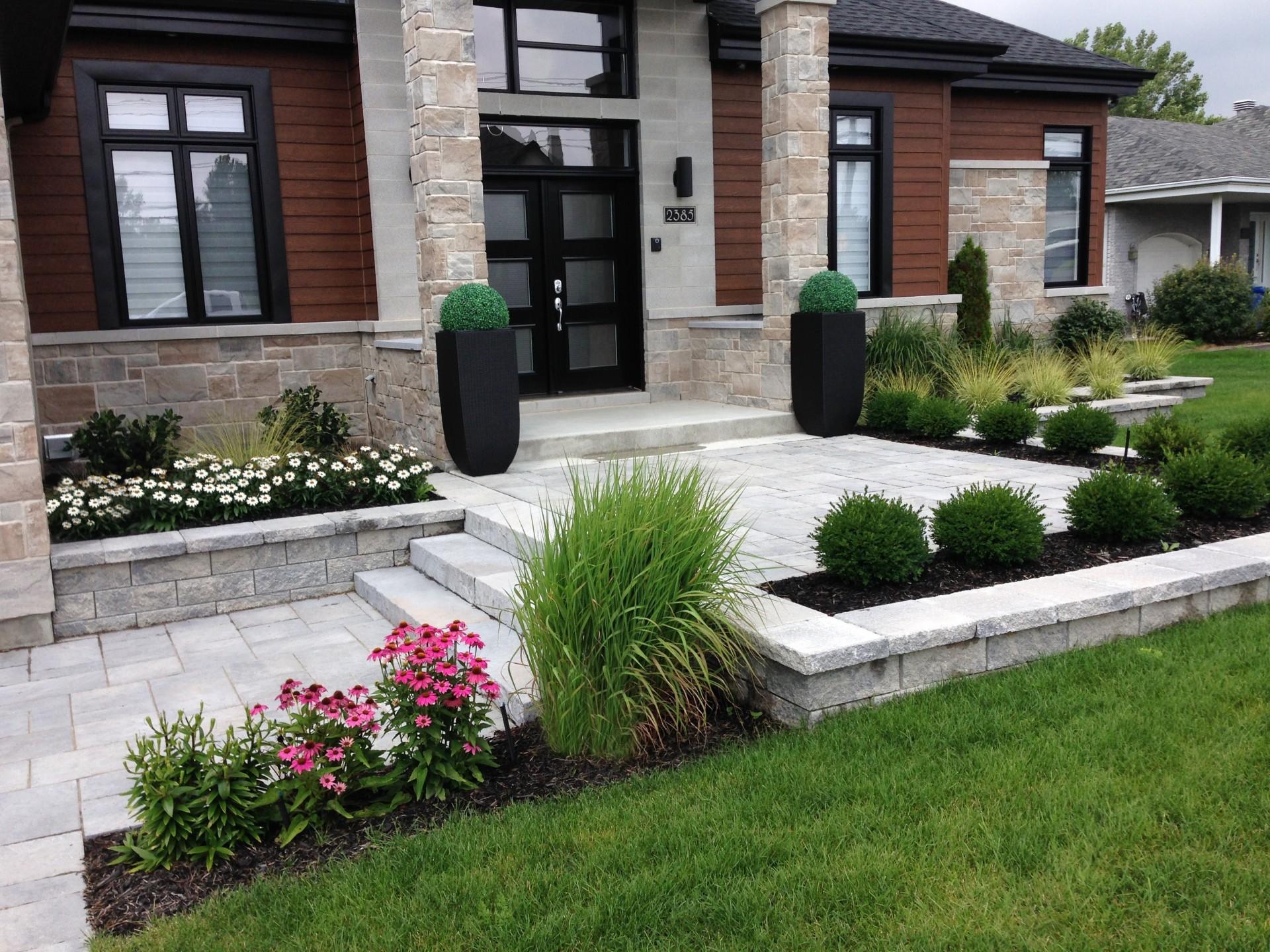 Ландшафтный дизайн загородного дома