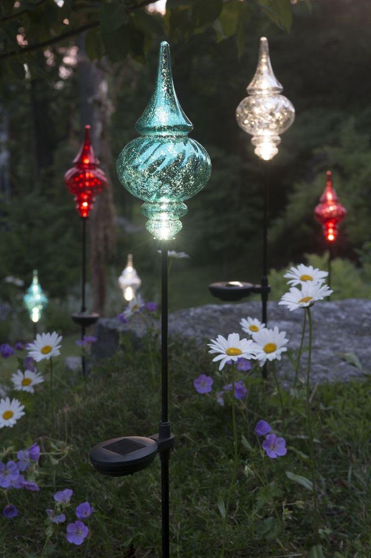 Фигурный солнечный светильник