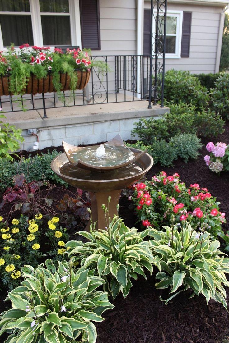 Ландшафтный дизайн с фонтаном