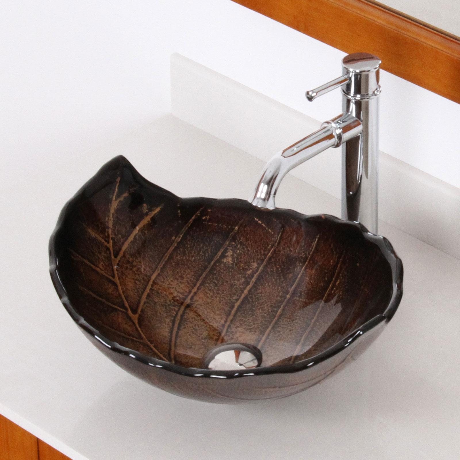 Стеклянная раковина необычной формы