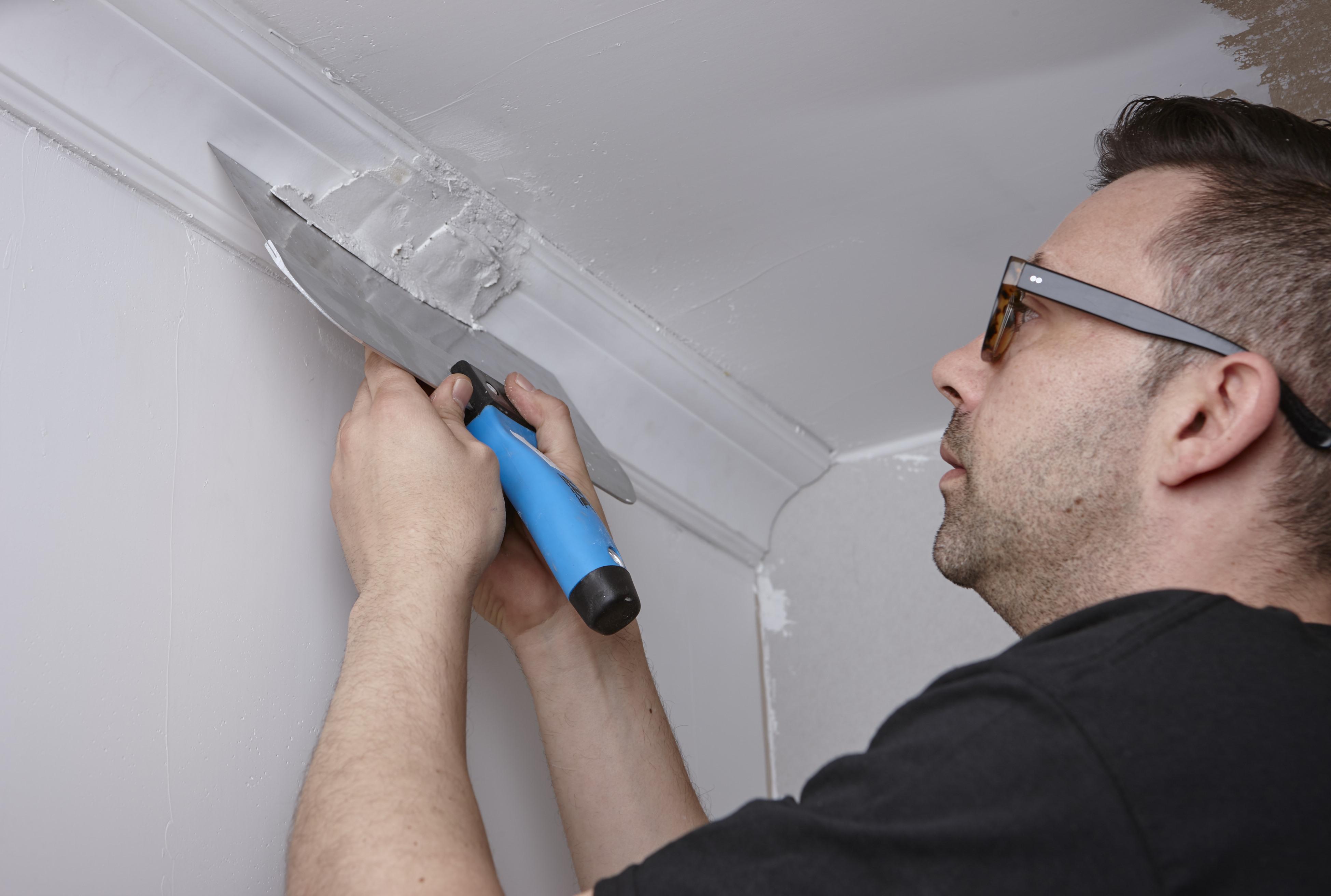 Гипсовая шпаклевка для потолка