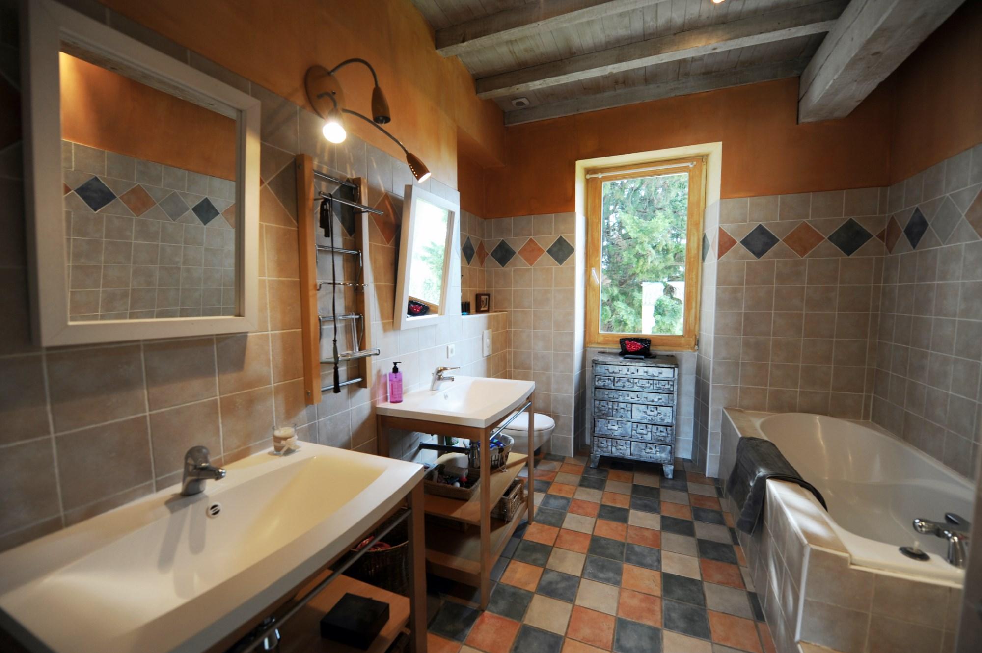 Кафель прованс в ванной