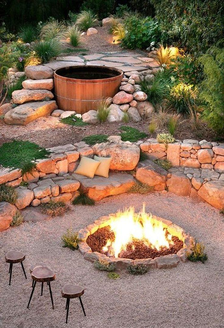 Ландшафтный дизайн каменного участка