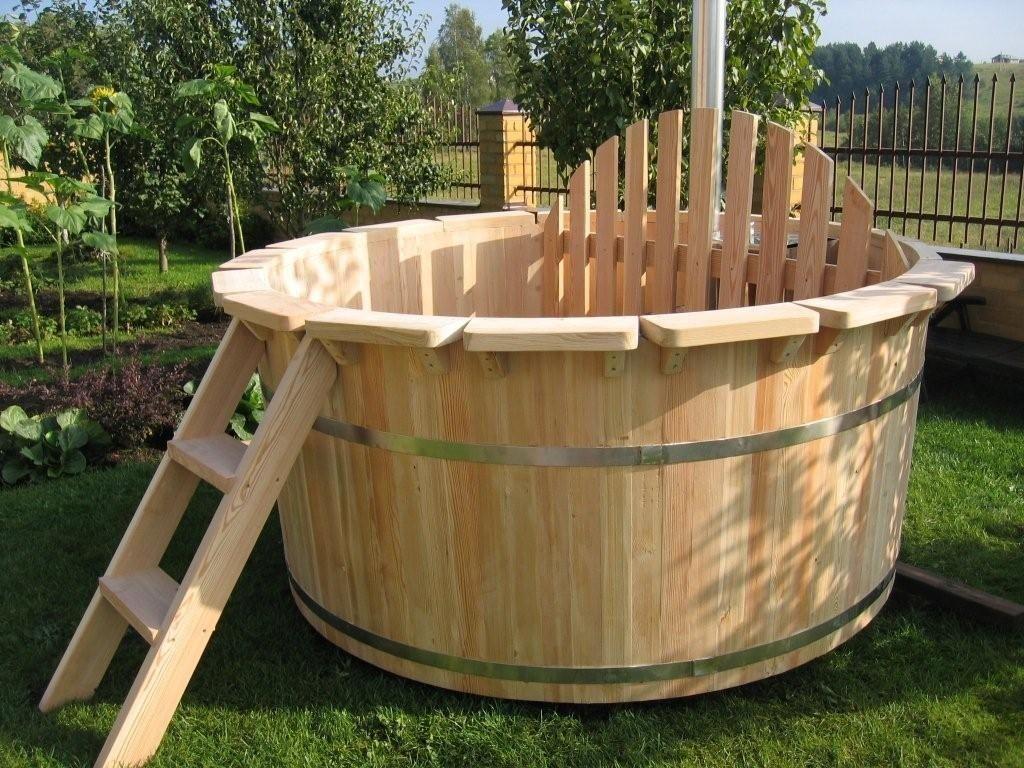 Купель для бани из кедра