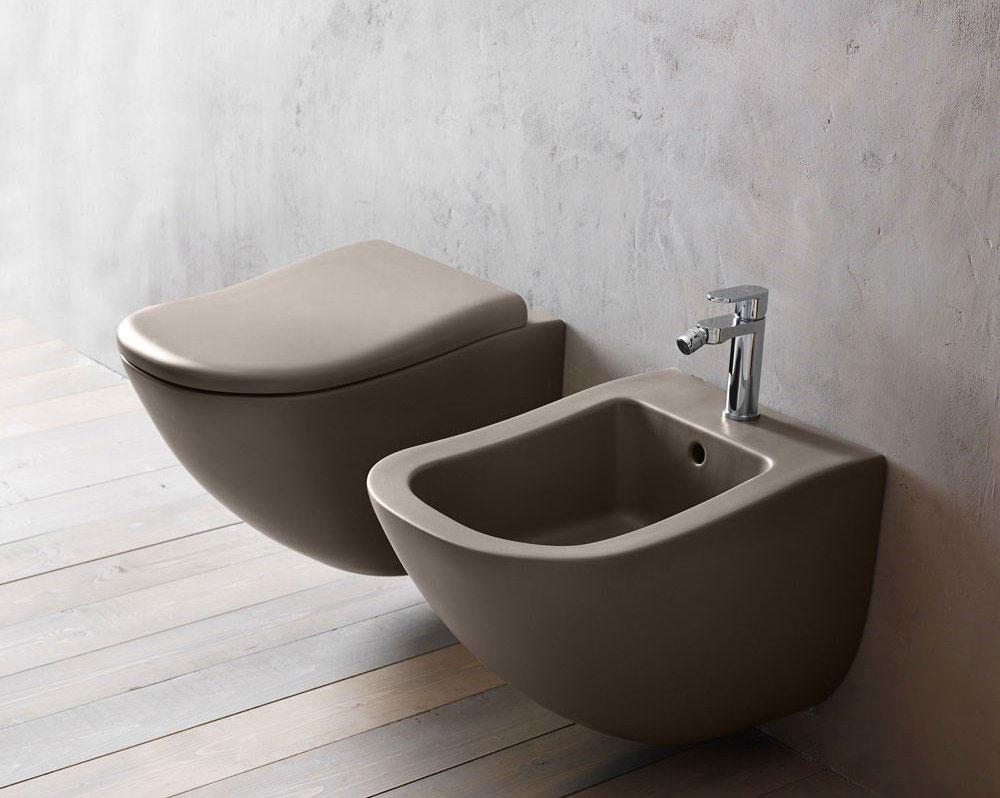 Цветные унитазы: возможности колористики в ванной комнате (22 фото)
