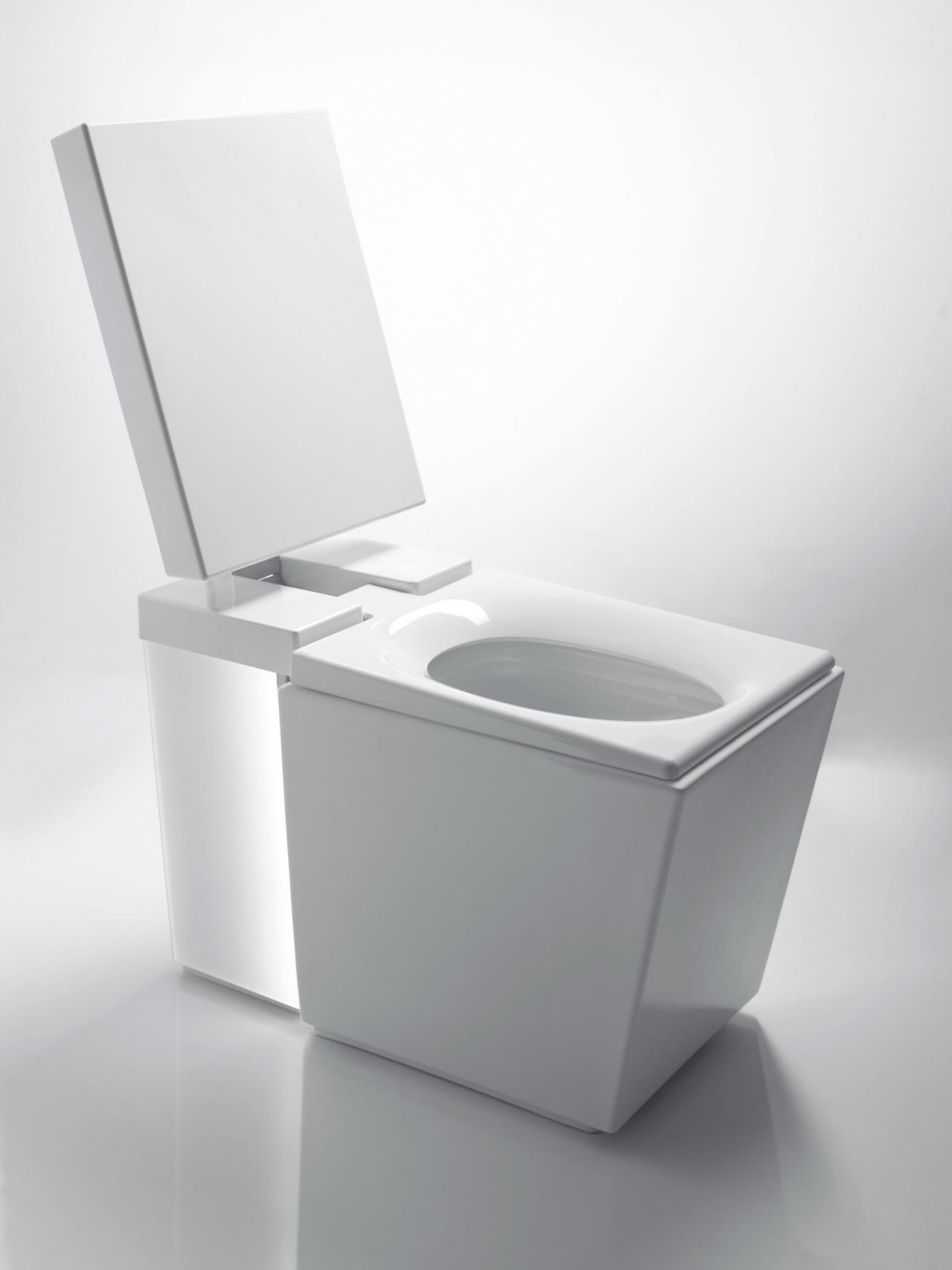Сиденье для унитаза квадратное