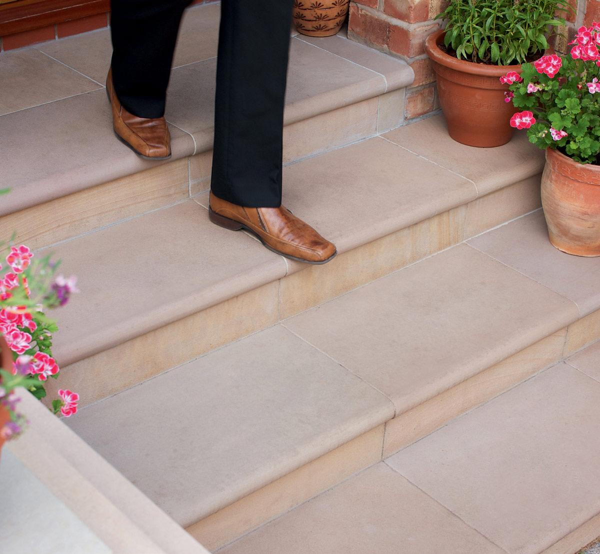 Песчаная плитка для лестницы