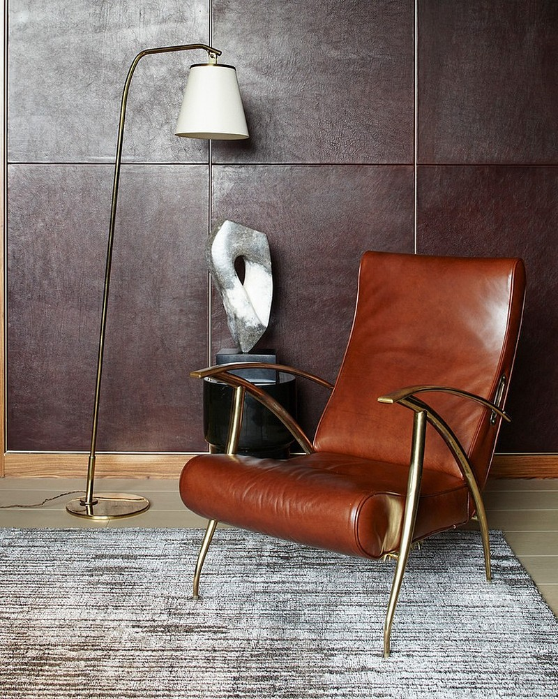 Кресло лофт металлическое
