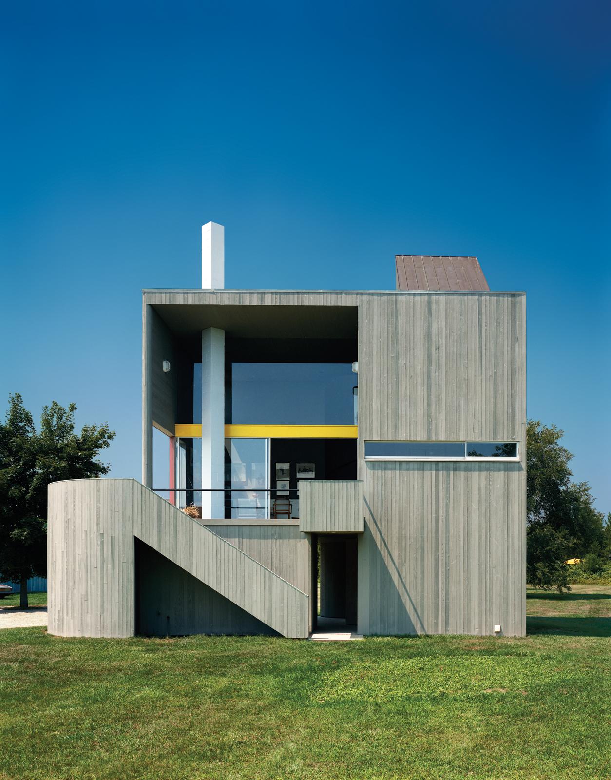 Сайдинг блок хаус в стиле модерн