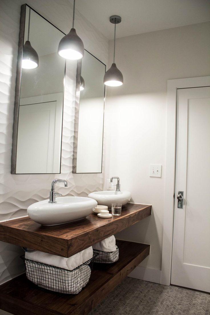 Раковина для ванной в стиле модерн