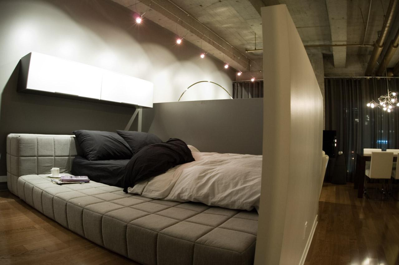 Кровать модульная в стиле лофт