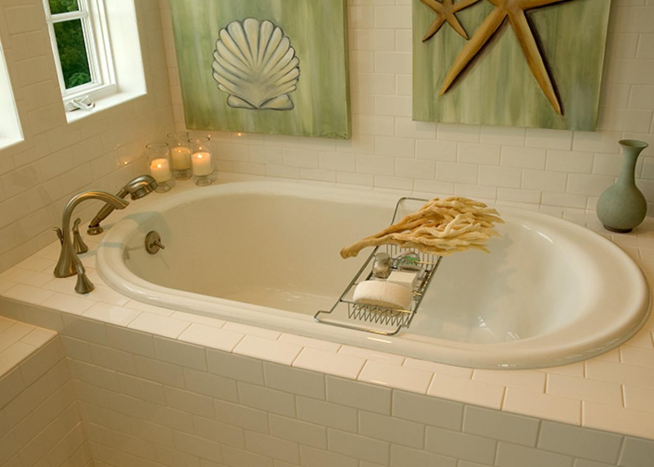 Ванная без раковины в морском стиле