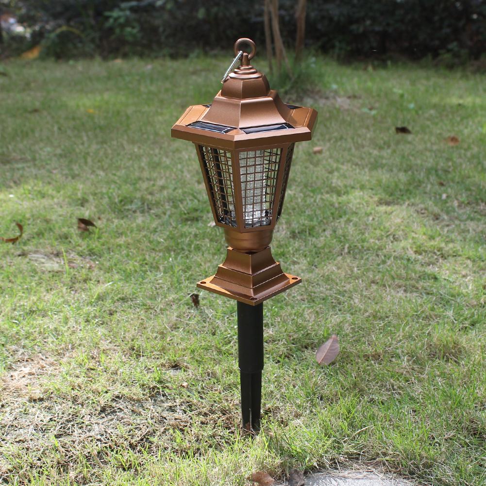 Солнечный светильник напольный