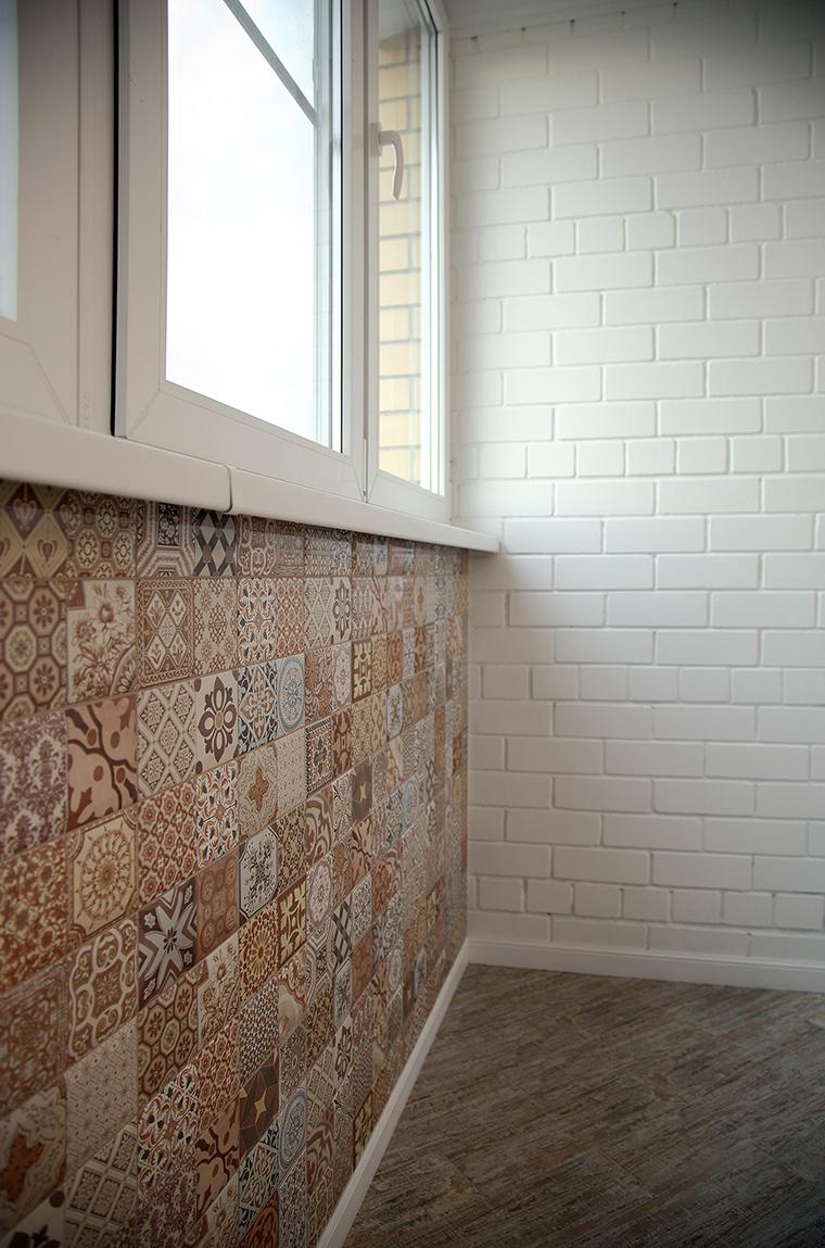 Настенная плитка на балкон