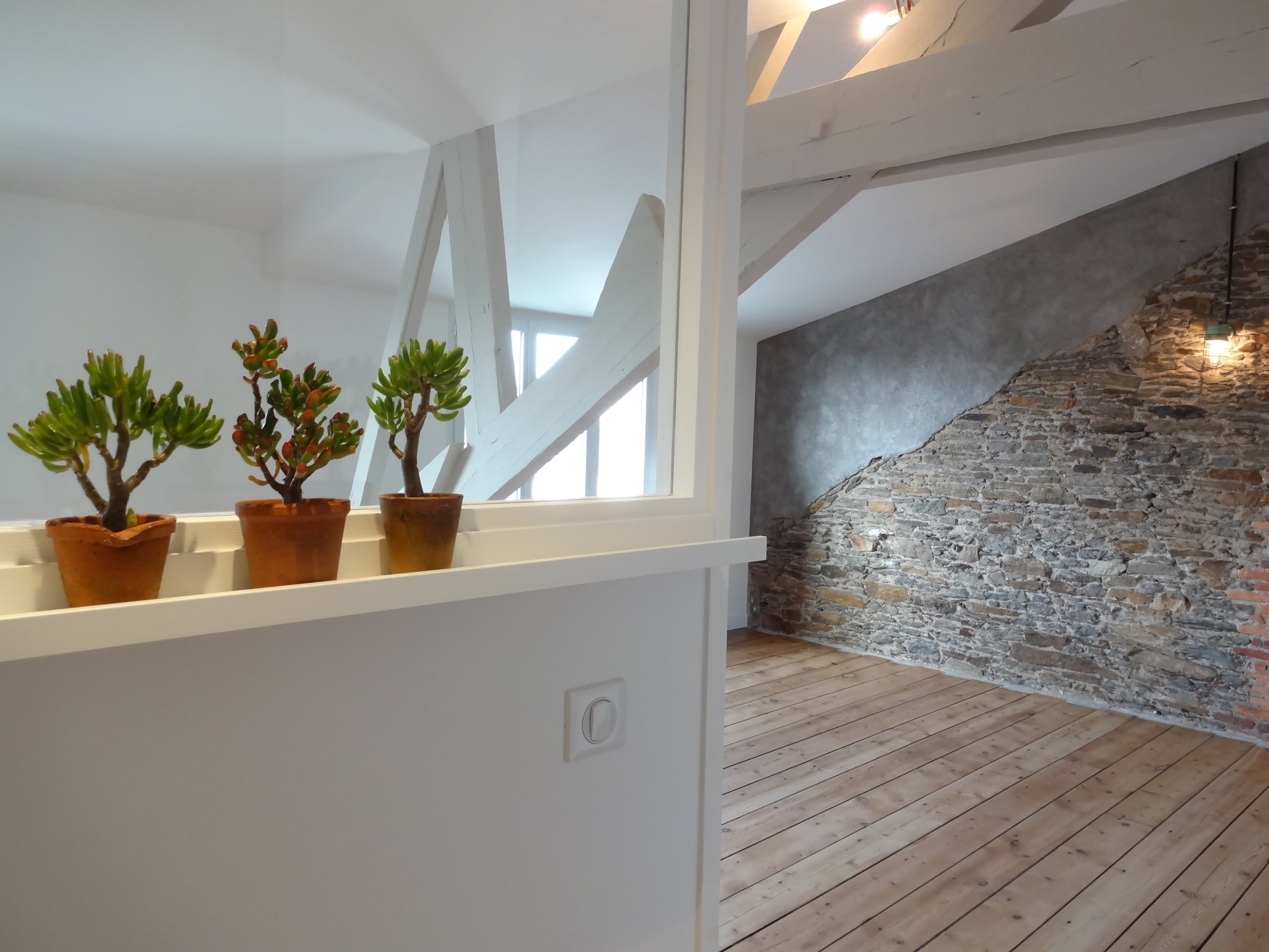 Отделка квартиры студии в стиле лофт