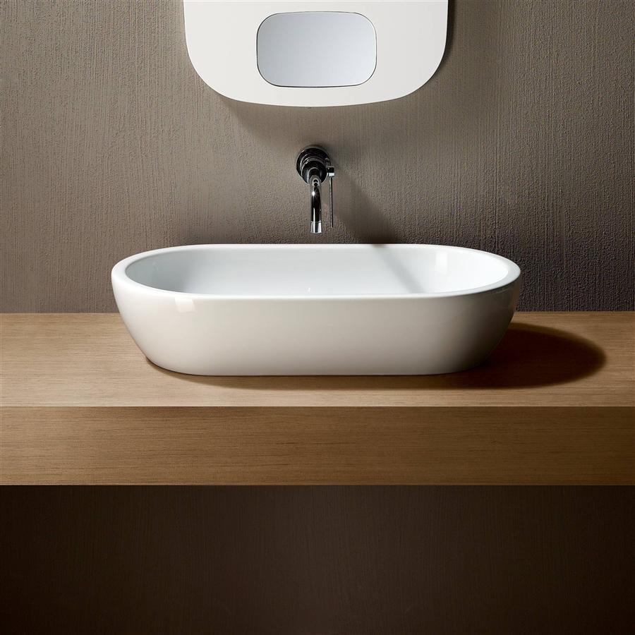 Раковина для ванной овальная