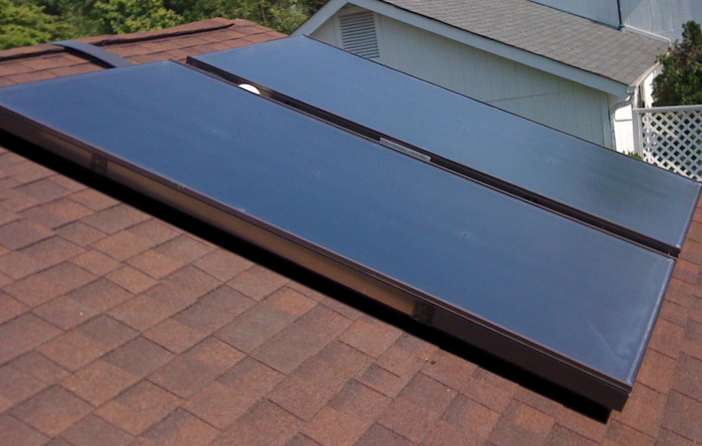 Солнечный коллектор панельный