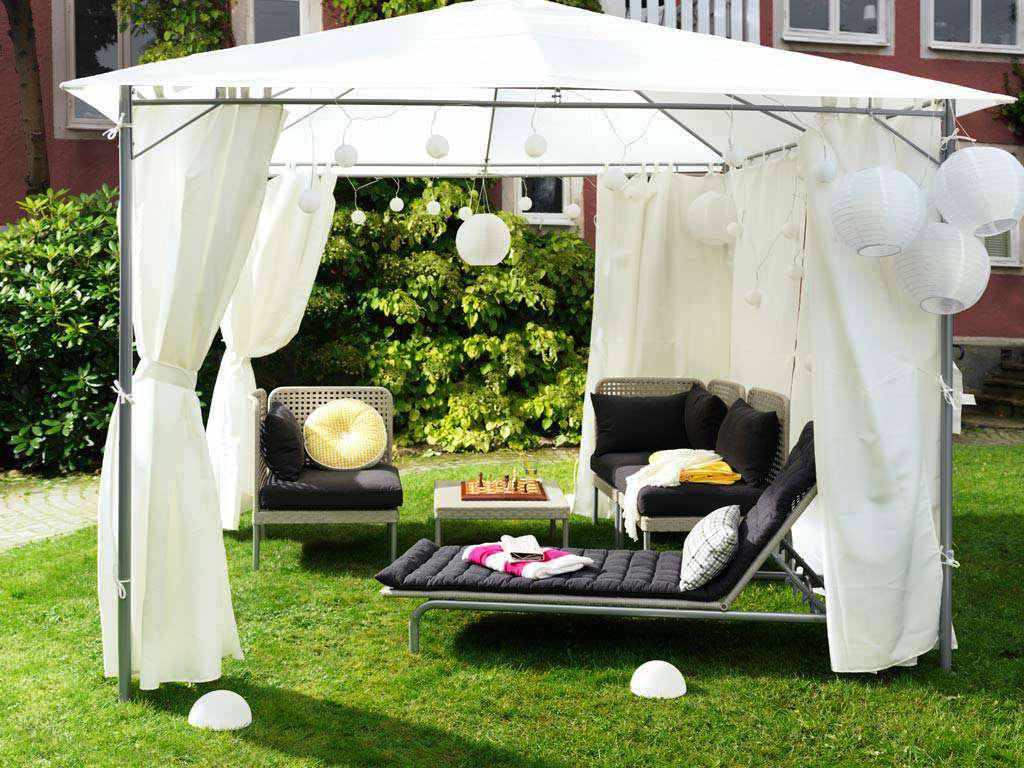 Садовый шатер переносной