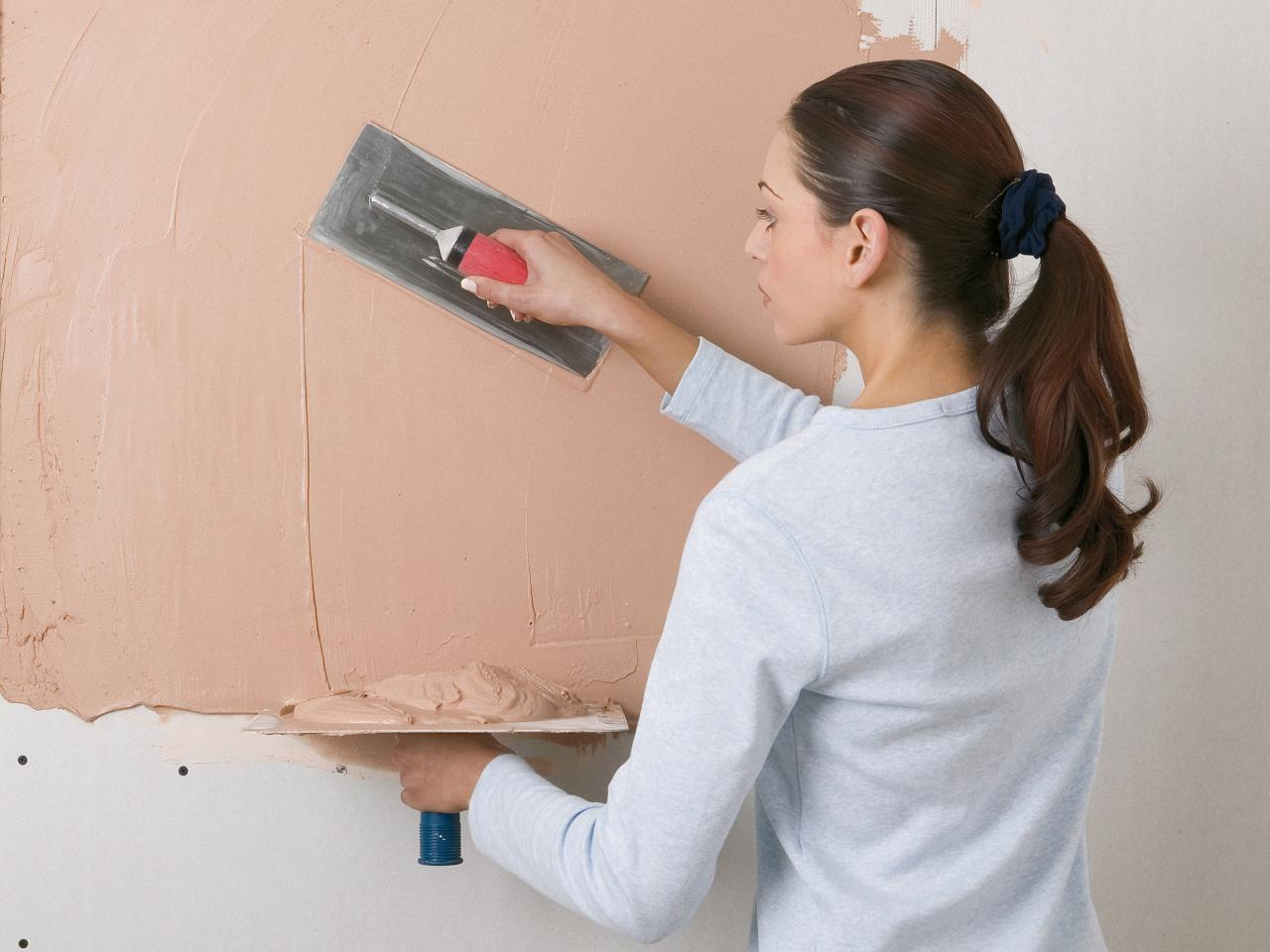 Шпаклевка гипсокартона под покраску