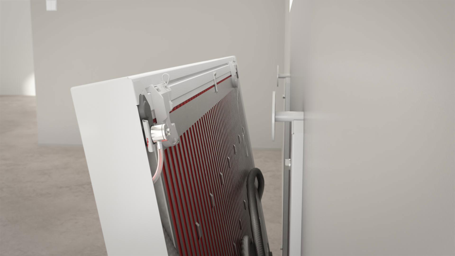 Подключение полимерного радиатора