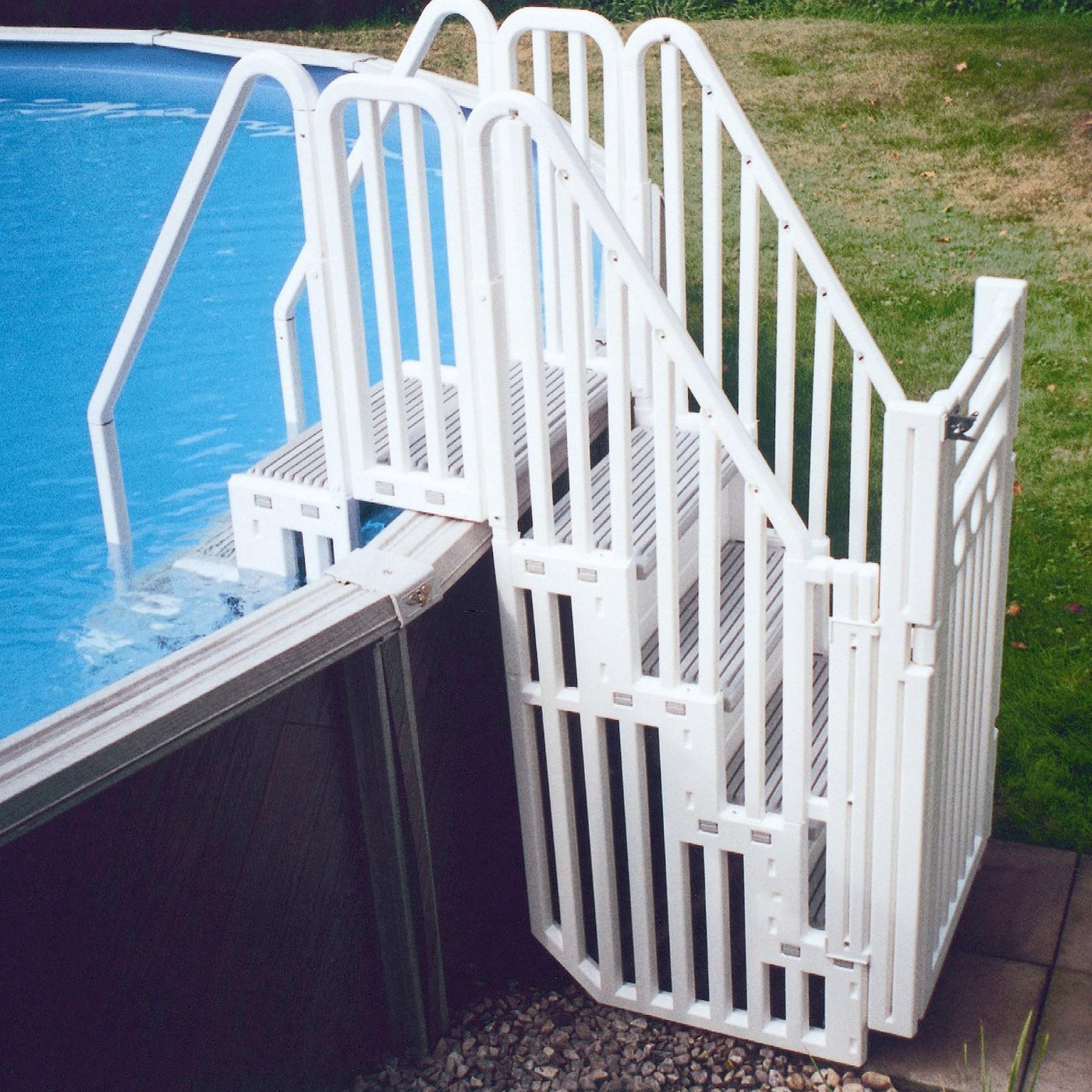 Лестница для бассейна приставная