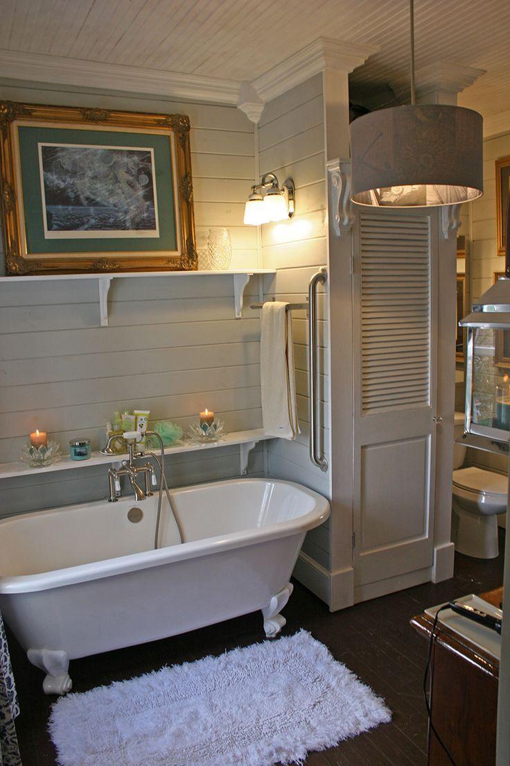 Ванная без раковины в стиле прованс