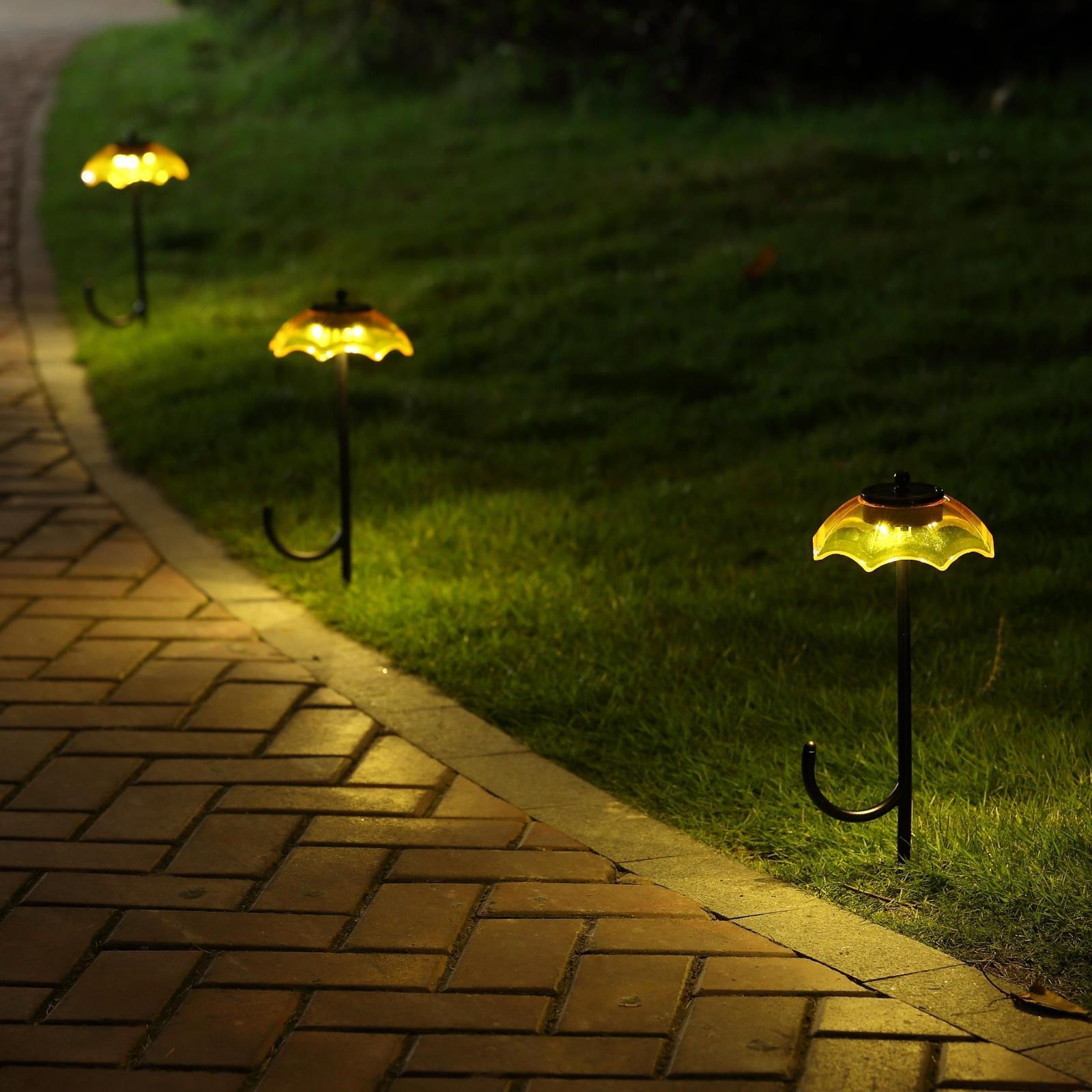 Солнечный светильник для сада