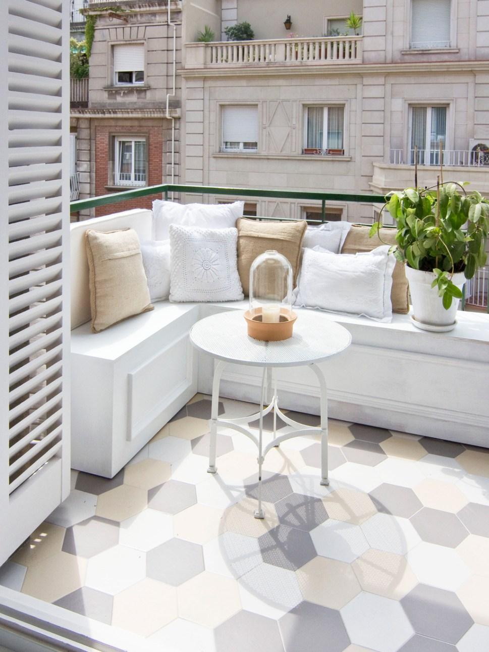 Плитка шестиугольная на балкон