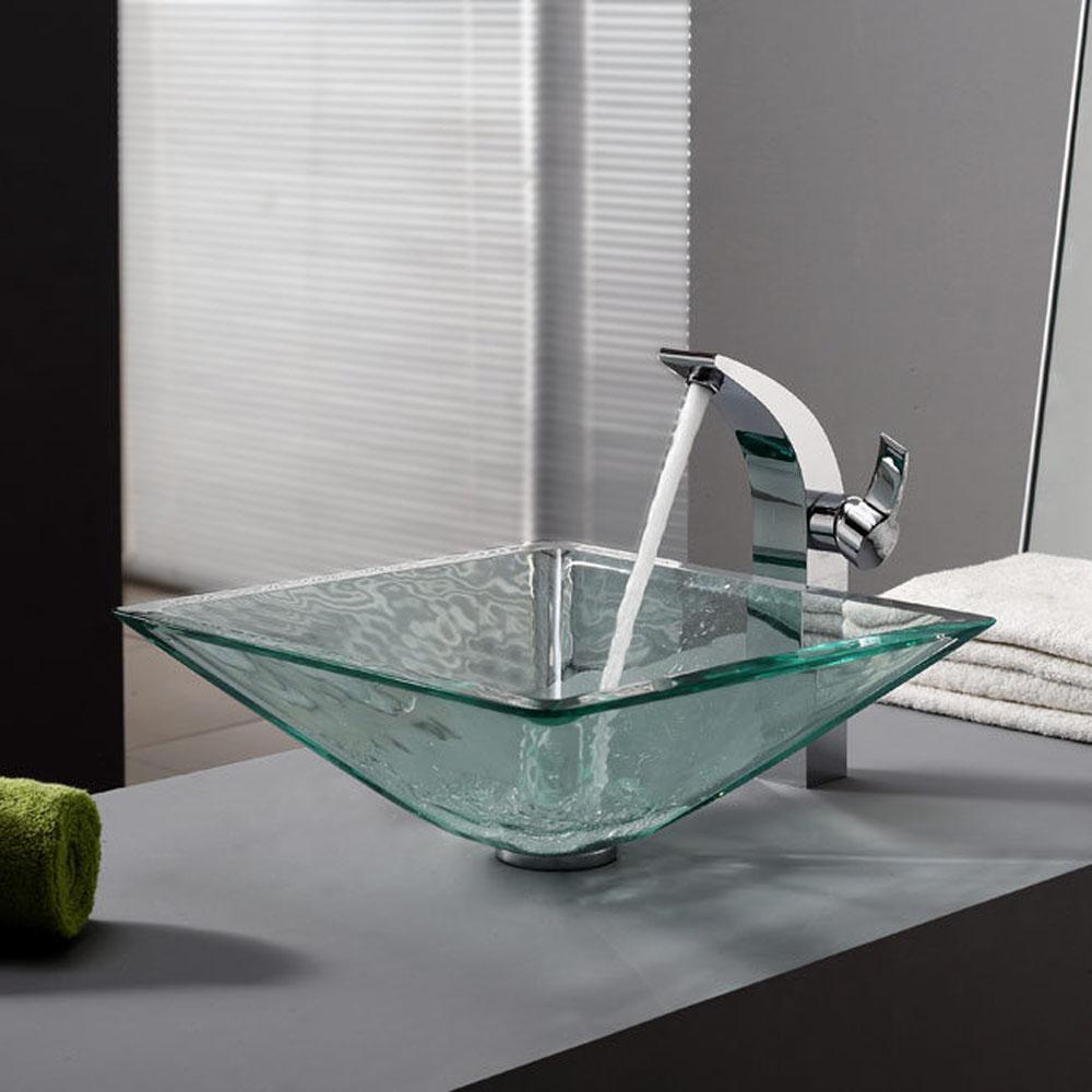 Раковина стеклянная для ванной