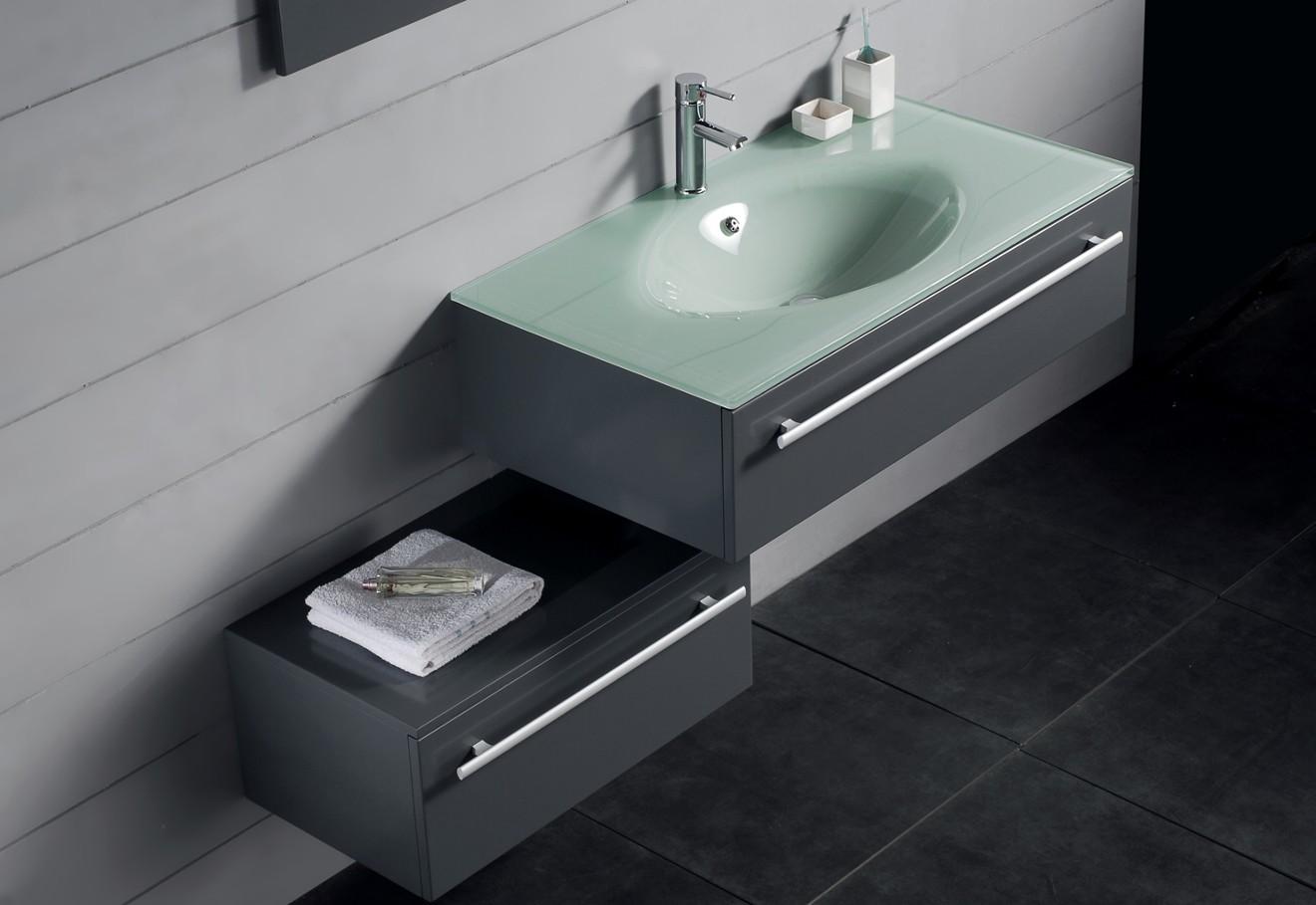 Раковина для ванной из стекла
