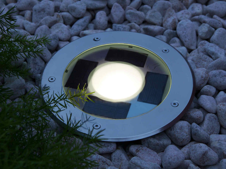 Солнечный светильник точечный