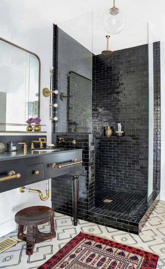 Смеситель бронза в ванной