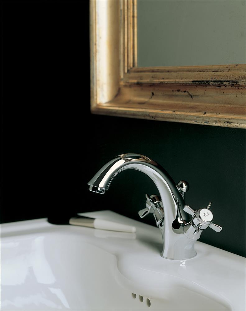 Смеситель из хрома – оптимальный вариант для обустройства ванной комнаты и кухни (22 фото)
