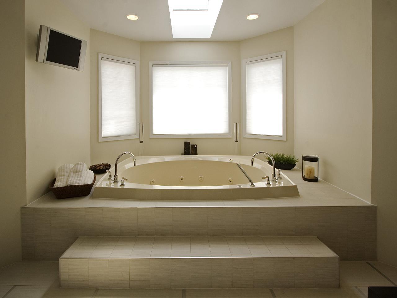 Ванная без раковины в загородном доме