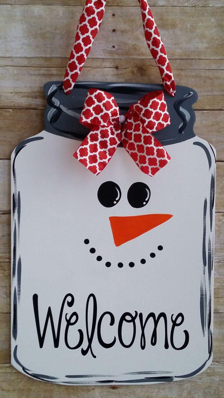 Снеговик из бумаги на елку