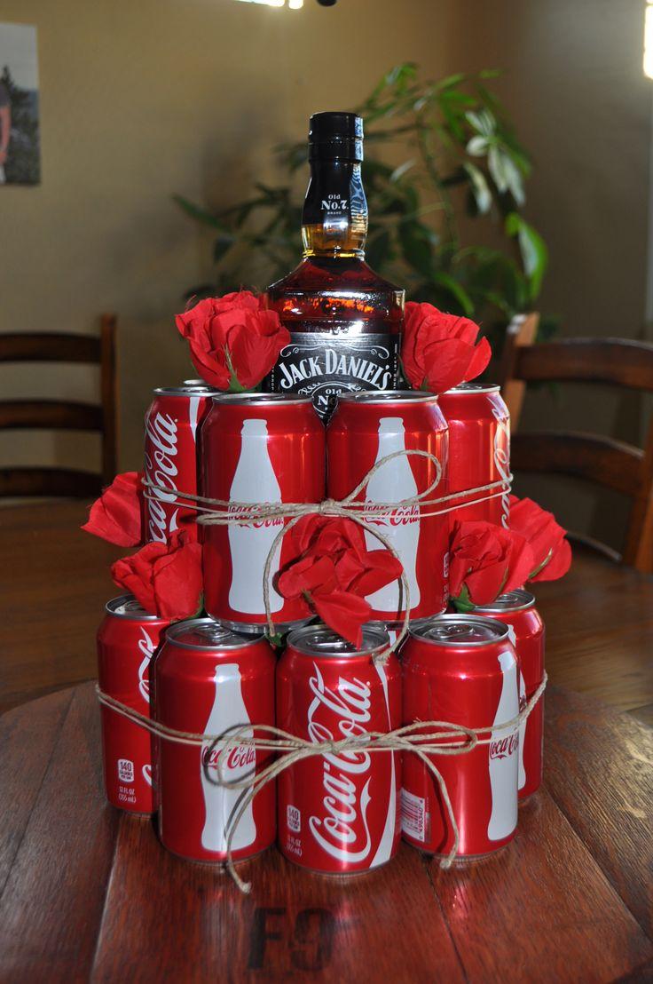Оригинальная упаковка алкоголя на новый год