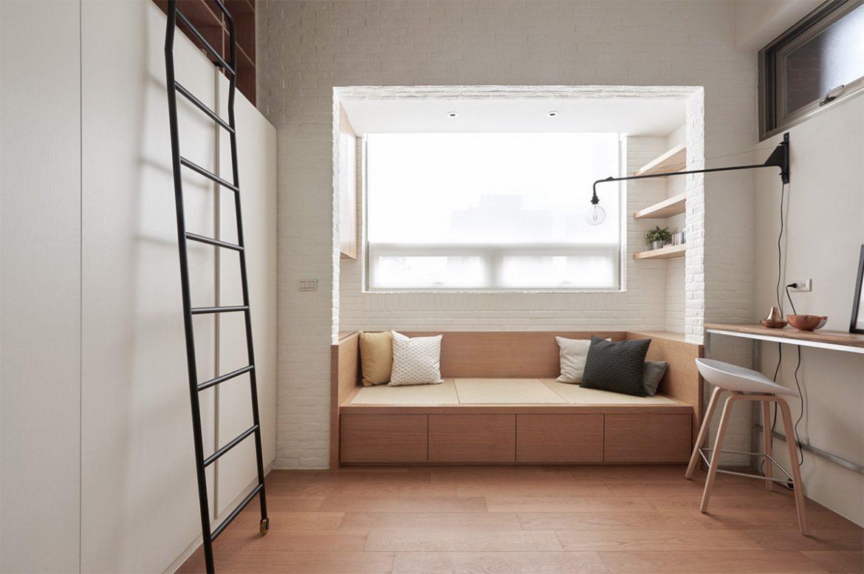Дизайн однокомнатной хрущевки с балконом