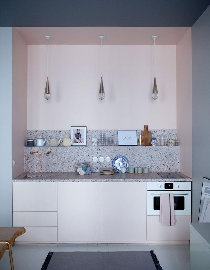 Кухня 6 кв м без подвесных шкафчиков