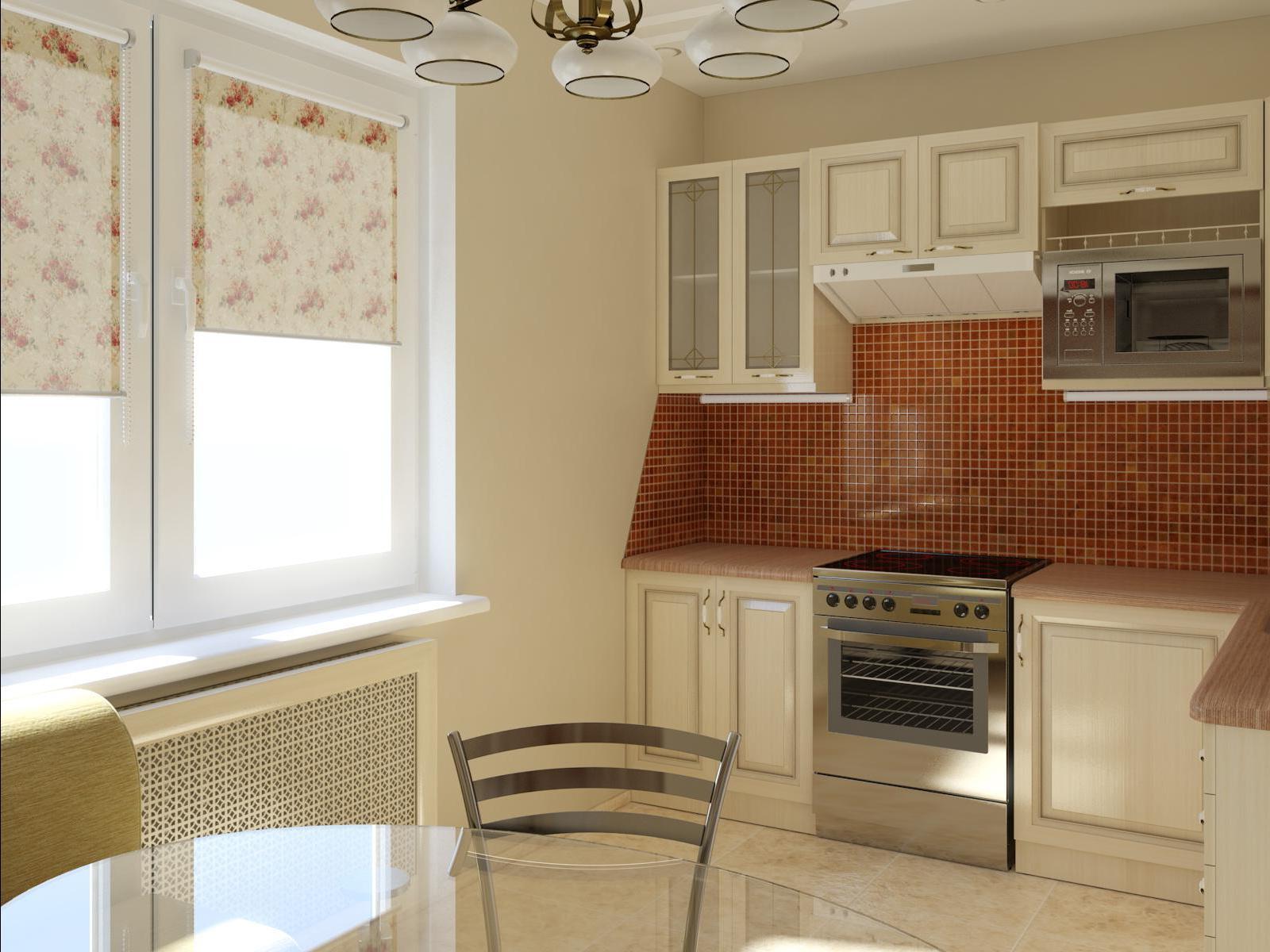Классическая кухня 6 кв м