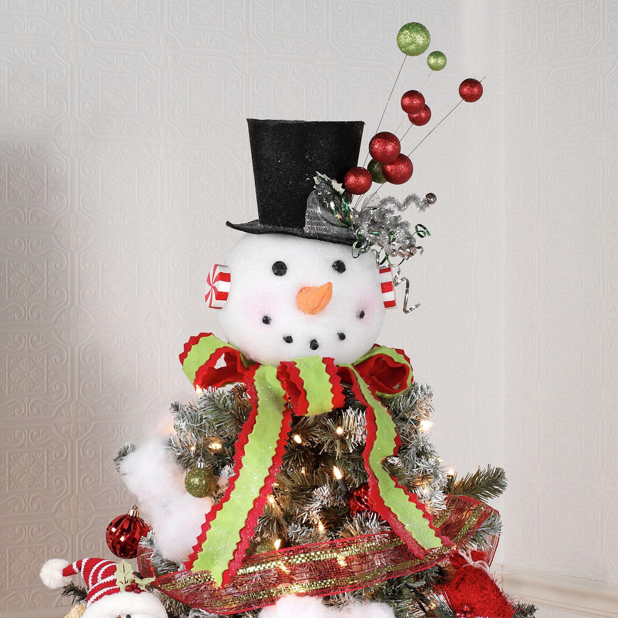 Как сделать снеговика декоративного