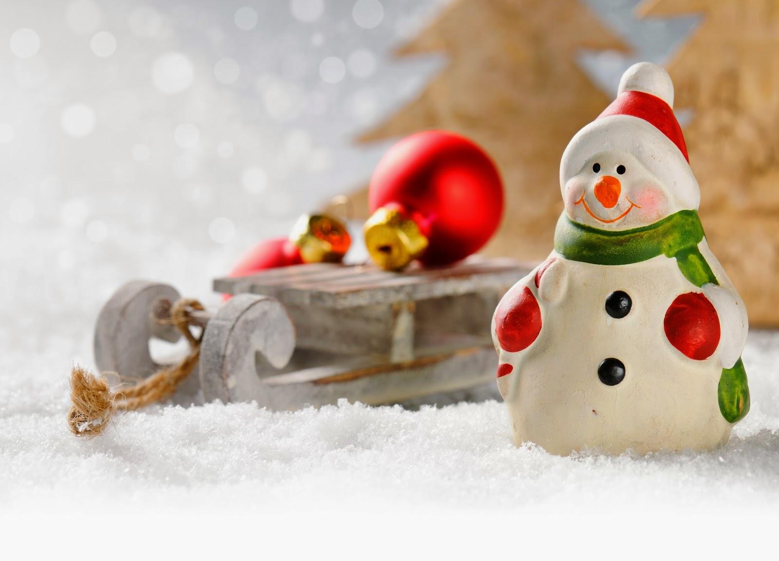 Как сделать фигурку снеговика