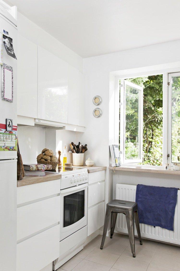 Кухня 6 кв м глянцевая