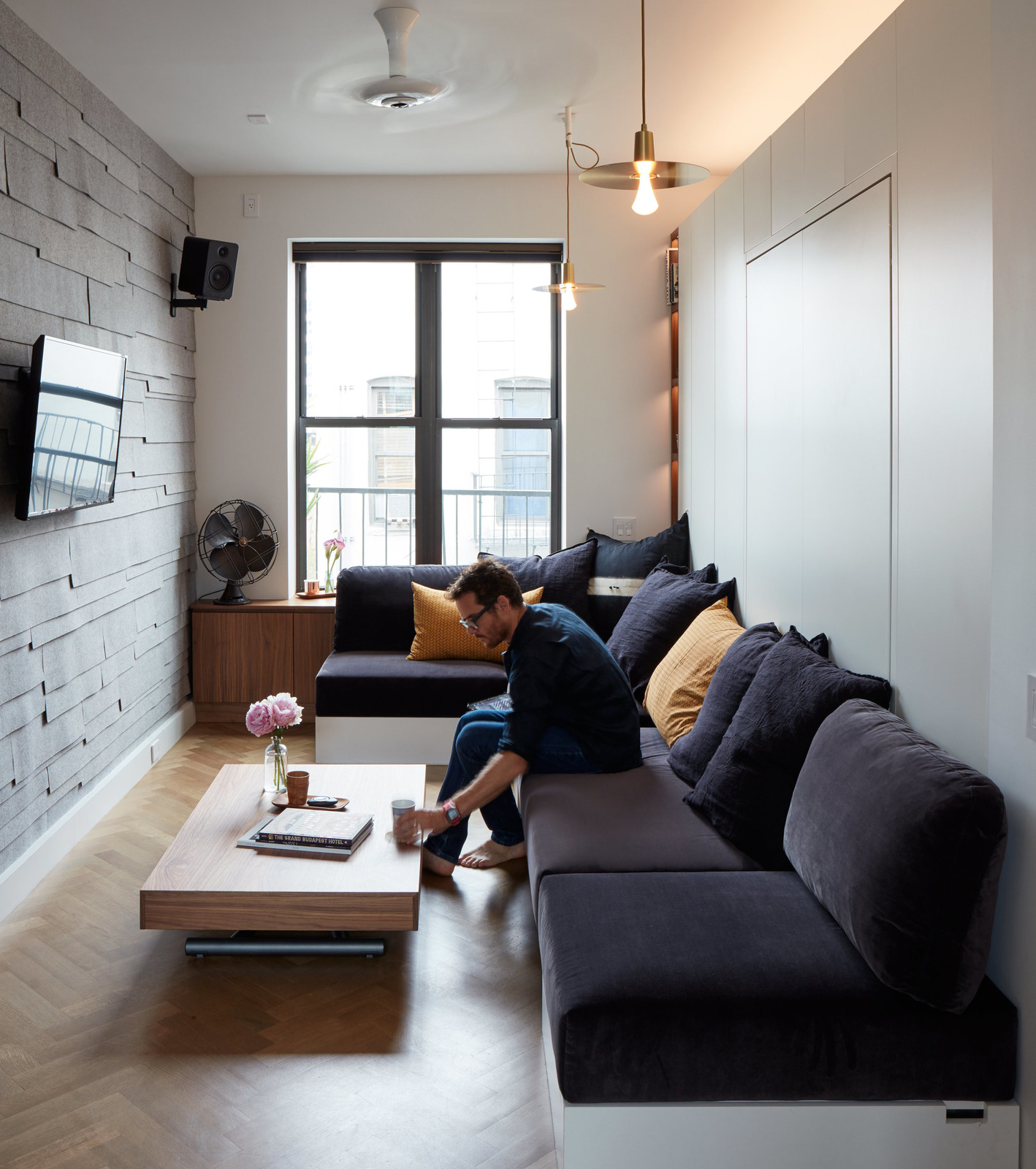 Идеи для однокомнатной квартиры с гостиной