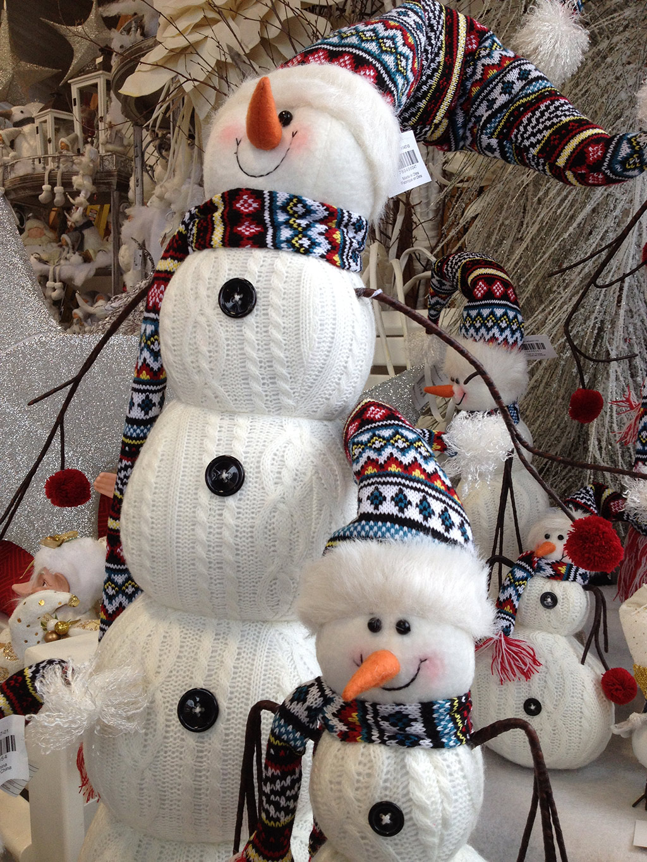 Как сделать снеговика из кофты
